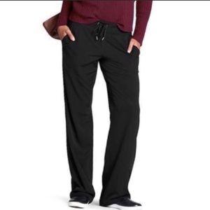 Athleta Midtown Trouser Black Pants, size 4